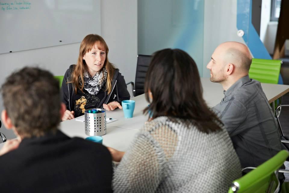 Co-Working und Workshop-ing Foto: jens-steingaesser.de