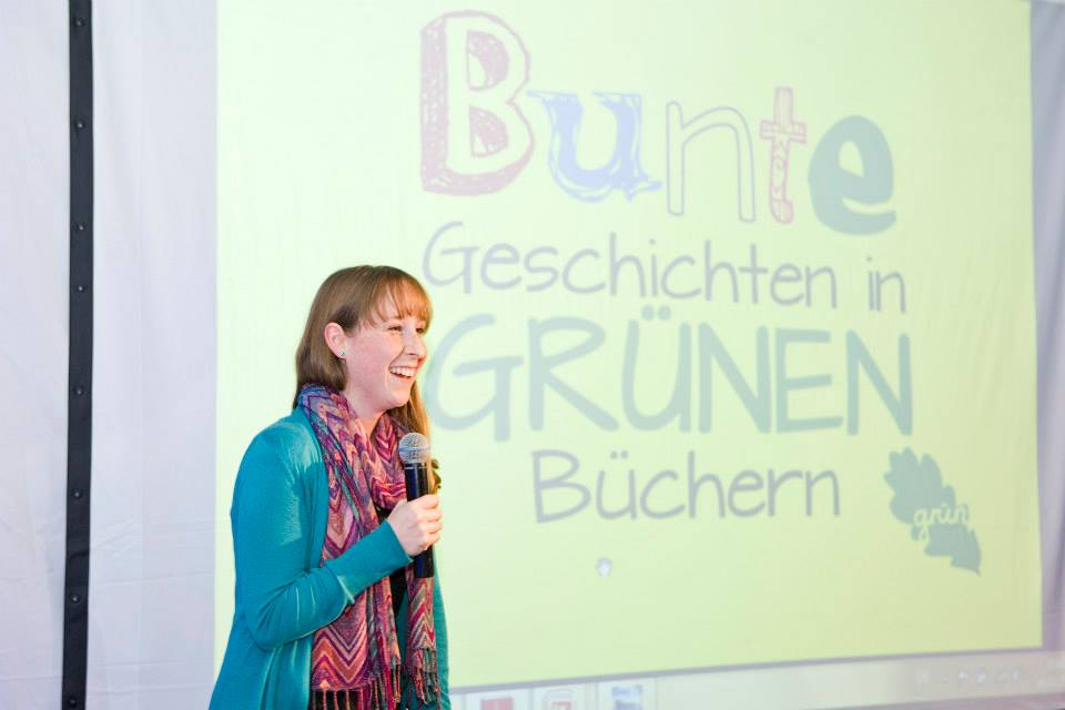 Charlottes erster Pitch vor der Jury der social impact gGmbH in Frankfurt. Foto: Birte Filmer