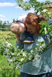 Sarah mit Sohn Erik