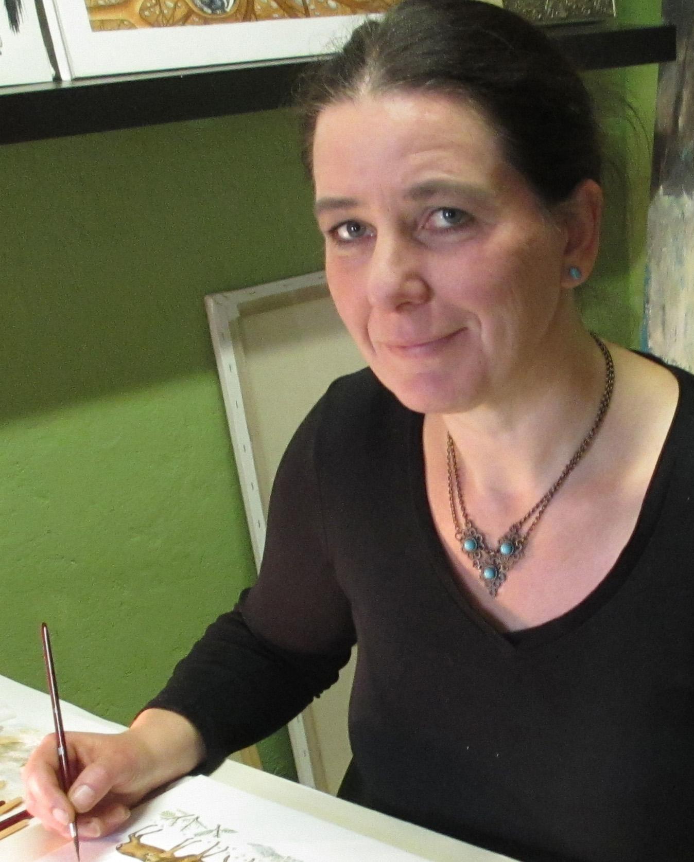 Illustratorin Maria Mähler