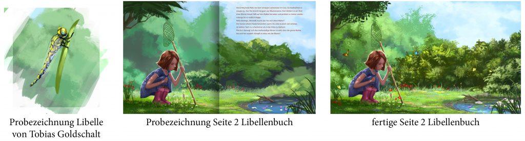 """Galerie: """"Eine Königslibelle in Neles Garten"""""""