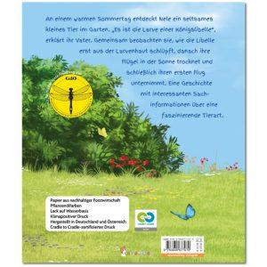 U4: Eine Königslibelle in Neles Garten