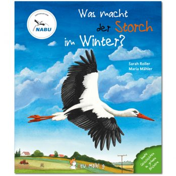 Cover: Was macht der Storch im Winter?