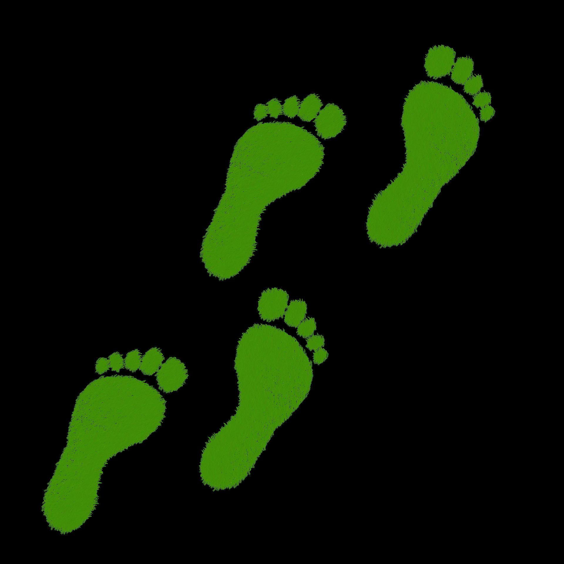 Umdenken für einen positiven Fußabdruck #positivefootprint