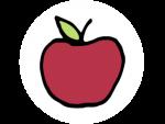 Icon ungiftig (Apfel)